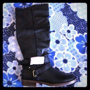 Knee boots black